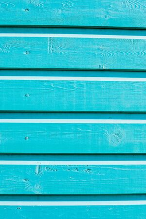 painted wood: Bright blue painted wood as a background