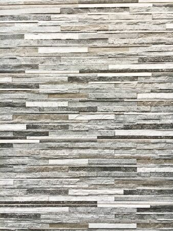 decorative wall: A wall of decorative stone tiles as a background
