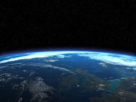 3d render of the Earth Stock Photo