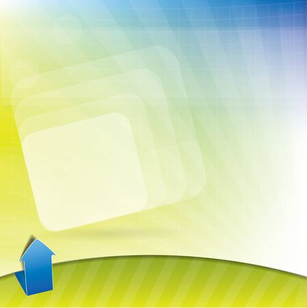 Abstract background with spring colors Vector