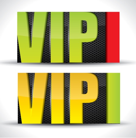 Vip card - vector Stock Vector - 16462241