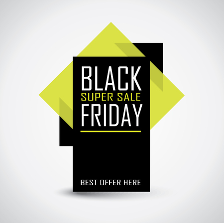 Black Friday sale banner Фото со стока - 87228065