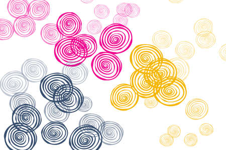 Light red, blue, yellow vector natural backdrop with roses. Glitter abstract illustration with flowers. for brand book.