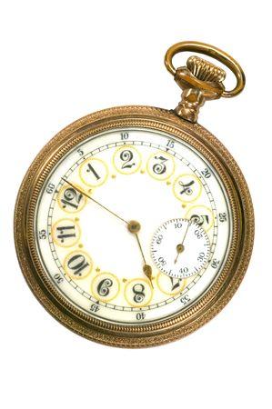 100 Jahre alte antike Taschenuhr