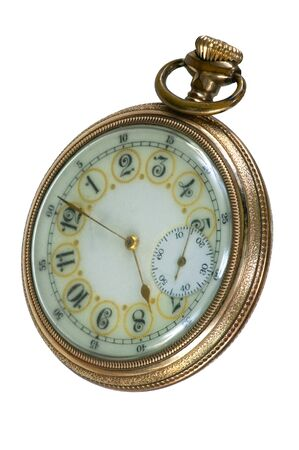 100 Year old antique pocket watch photo