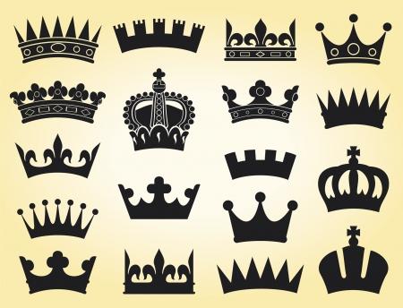 nobleman: corona di raccolta (corona, corona set silhouette)