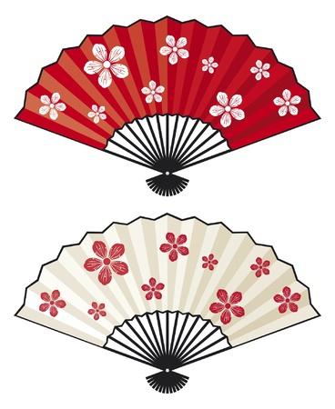 chinese fan: oriental fan