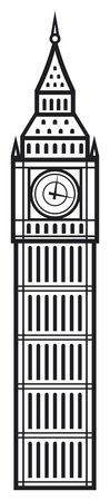 big ben Stock Vector - 14836241