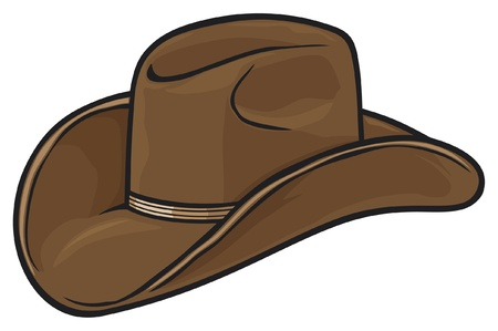 cowboy hat Stock Vector - 14836297