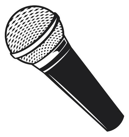 vintage mic: classic microphone