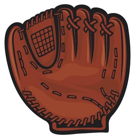 gant de baseball Vecteurs