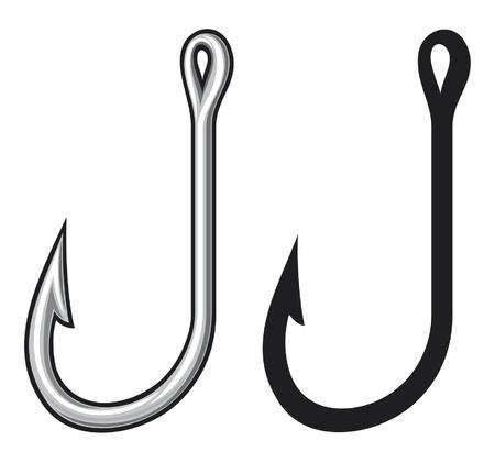 Fishing hook Stock Vector - 14836288