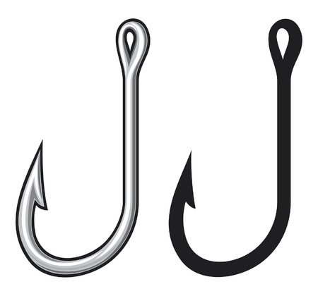 fish icon: Fishing hook
