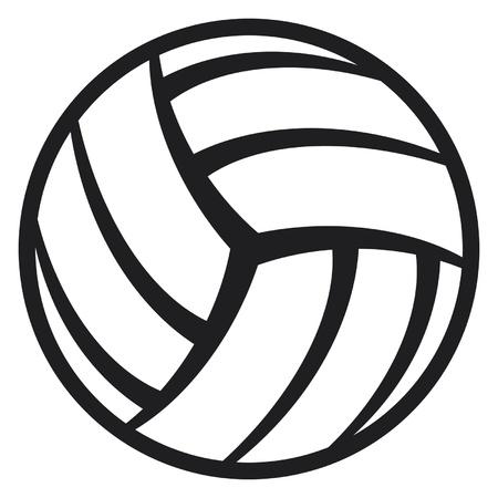 pelota de voleibol: voleibol pelota Vectores