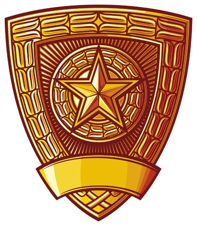 police badge Stock Vector - 14836235