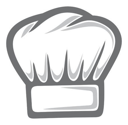 replaceable: white chef hat