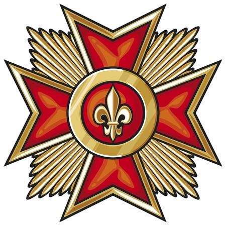 iron cross emblem: order (medal)