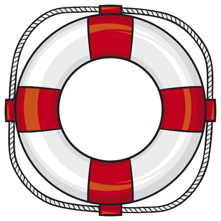 life ring: lifesaver