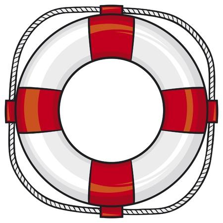 jangada: salvavidas Vectores