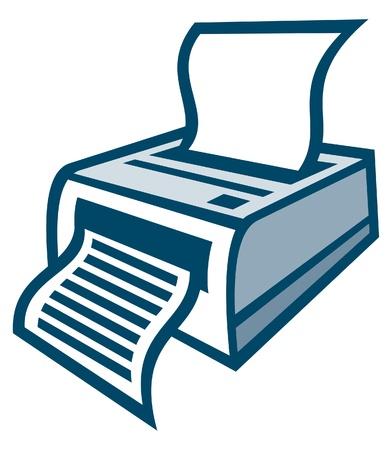 printer Stock Vector - 14836467
