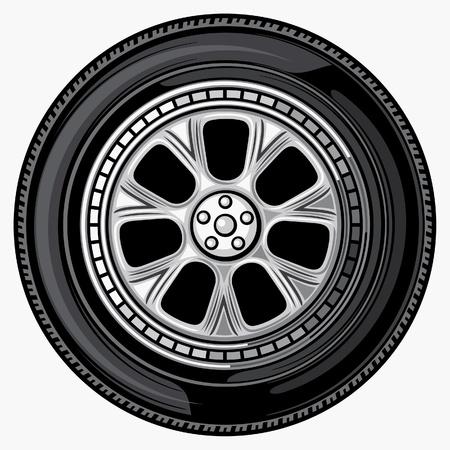 aluminum wheels: rueda (neum�tico)