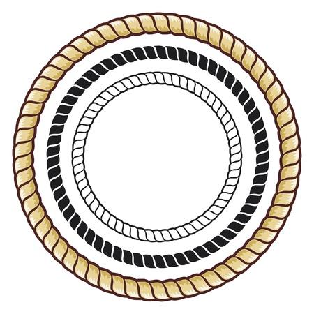 Cuerda Ilustración de vector