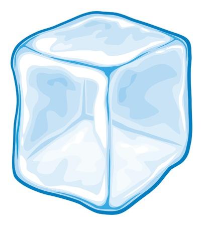 white cube: Ice cube