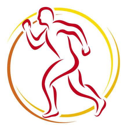 leg muscle: atl�tico Vectores