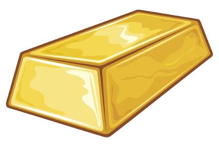 Gold Bullion Stock Vector - 14836419