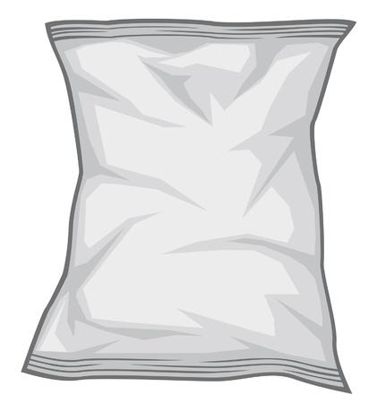 empacar: Foil paquete Vectores