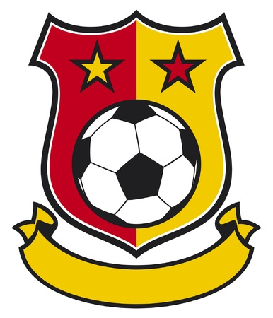 football club (soccer) symbol, emblem, design Stock Vector - 14836289