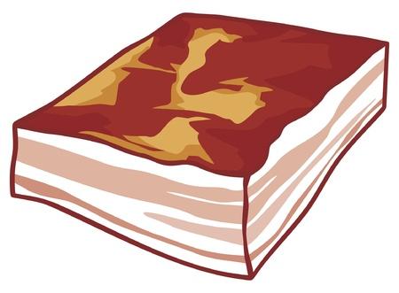 bacon Illustration