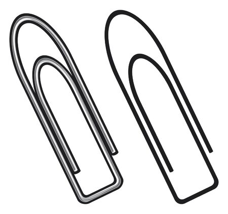 Paper clip Stock Vector - 14973286