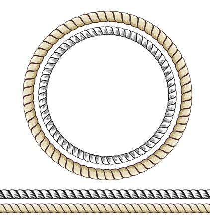 jump rope: Cuerda Vectores