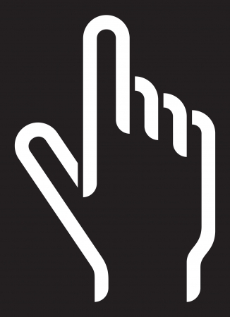 hand cursor Stock Vector - 14973405
