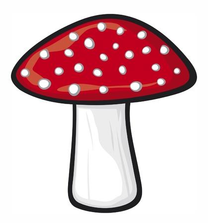 mushroom Stock Vector - 14973455