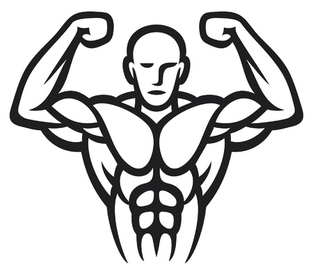 body building exercises: Bodybuilder