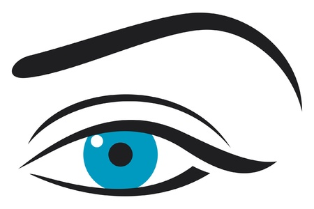 Woman eye Stock Vector - 14974402