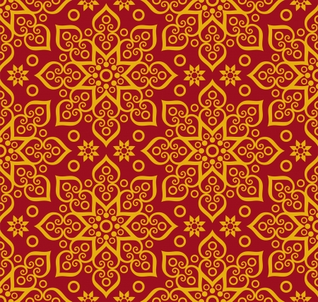 richness: beautiful oriental (eastern) pattern