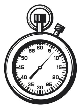 hand beats: Stopwatch