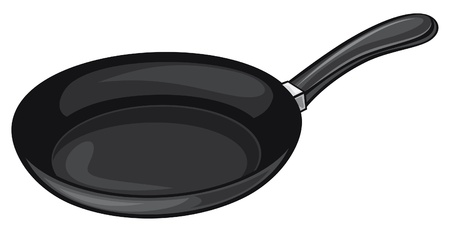 pan (frying pan) Vector