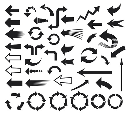 arrows icons (arrows icons set) Vector