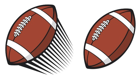 rugby ball  american football ball   Stock Vector - 14992891