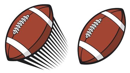 rugby ball  american football ball Stock Vector - 14992891