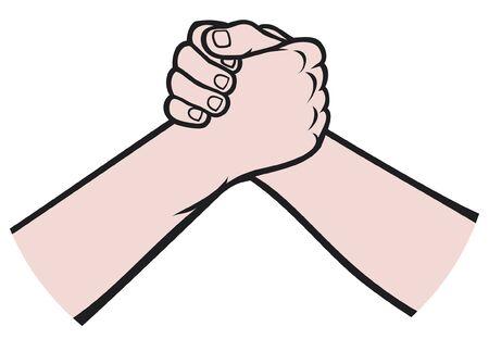 handshake Stock Vector - 14994177