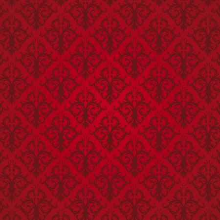 Red Seamless Pattern  wallpaper  Vector