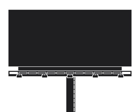 blank billboard: outdoor blank billboard  outdoor advertising construction
