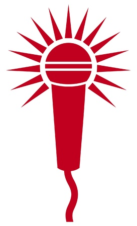 oldie: Vector Classic Microphone Symbol  Microphone Icon  Illustration