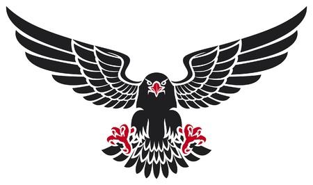black eagle Stock Vector - 15039341