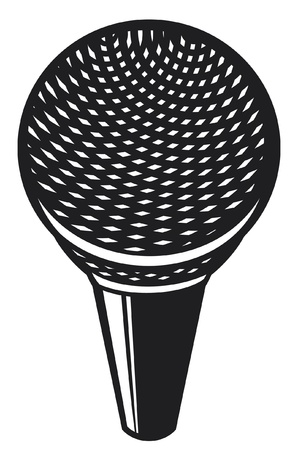 classic microphone Stock Vector - 15039350